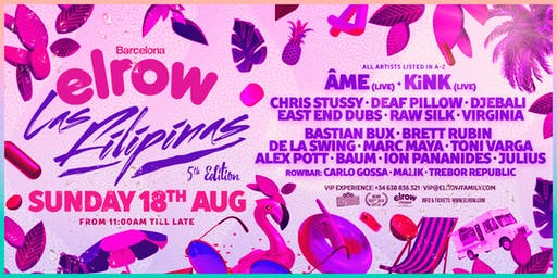 elrow Barcelona - Las Filipinas
