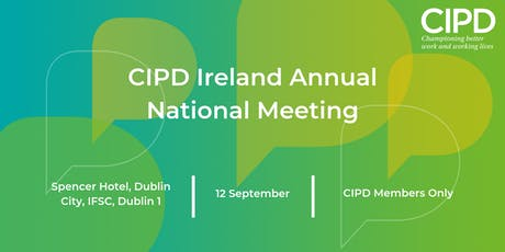 CIPD Ireland National Annual Meeting 2019 tickets