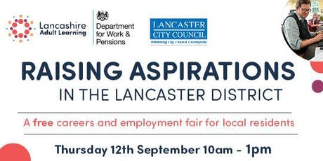 Raising Aspirations in the Lancaster District tickets