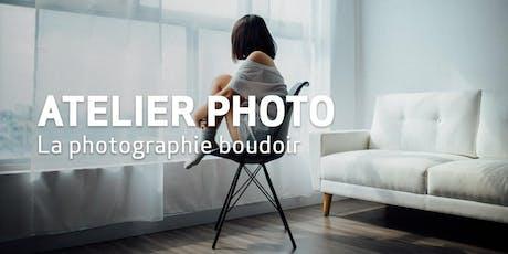 Atelier Photo // La photographie boudoir avec O'Kane billets