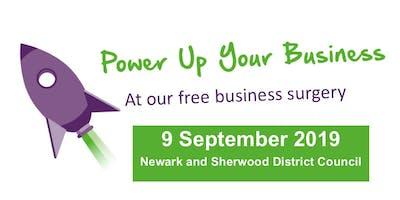 Newark & Sherwood Business Surgeries - 9 Sept