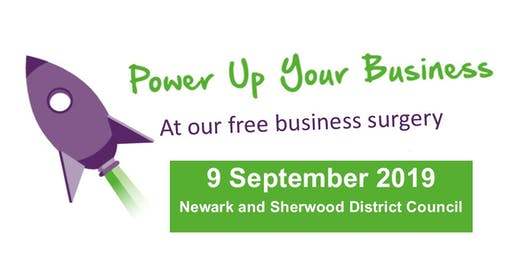 Newark & Sherwood Business Surgeries - 9 Sept