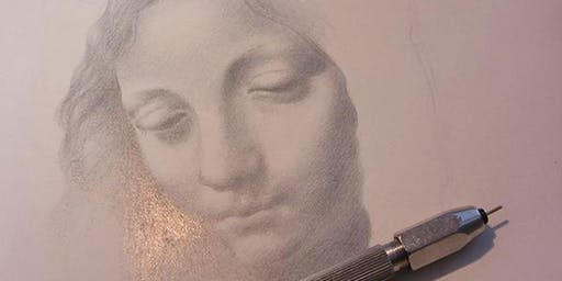 Drawing with Silver, Painting with Egg with Toni Watts, York Art Gallery
