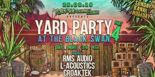 Bris-Tek x Rumble In The Jungle x Yard Party 4