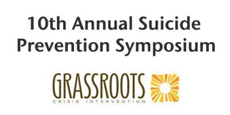 10TH Annual Suicide Prevention Symposium tickets