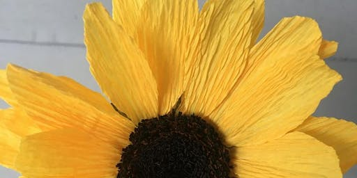 Handcrafted Paper Flowers: Sunflower