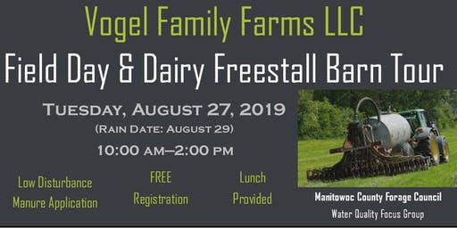 Field Day & Dairy Freestall Barn Tour