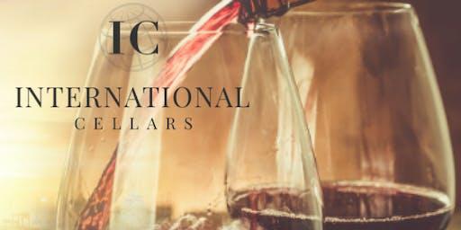 Portfolio Wine Tasting with International Cellars (Friday)