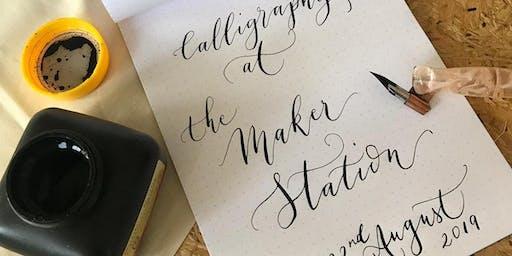 Beginner's Modern Calligraphy Class