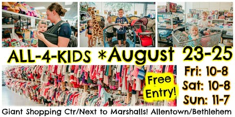 All-4-Kids Sale, Fall + Winter 2019 (consignment event) tickets