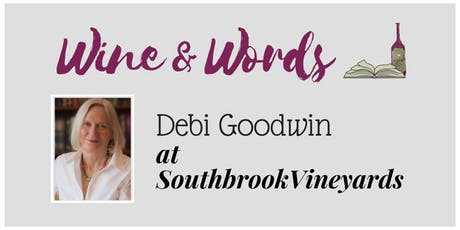 Wine & Words: Debi Goodwin tickets