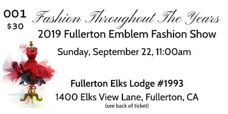 2019 Fullerton Emblem Fashion Show tickets