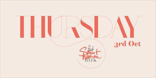 Red Smart Women Week: Thursday 3rd October