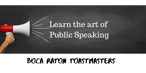 Learn the Art of Public Speaking