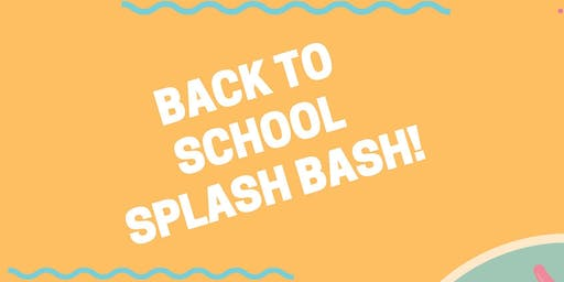 #CAP Back to School Splash Bash