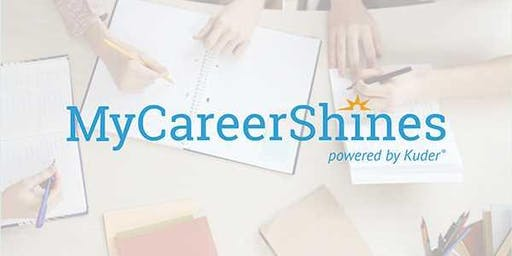 Levy Training: MyCareerShines for Secondary (afternoon session)