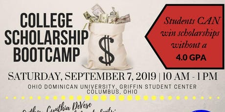 College Scholarship Boot Camp tickets