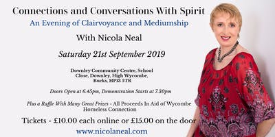 Connections and Conversations with Spirit - An Evening of Clairvoyance and Mediumship