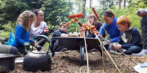 Bushcraft For Families, 30-July-2019