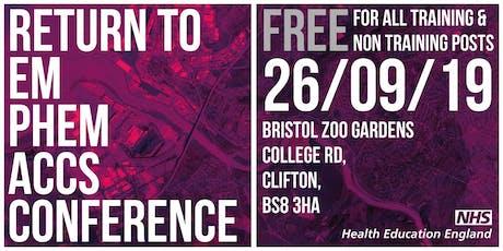 Return to EM PHEM ACCS Conference tickets