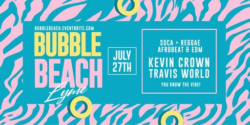 Bubble Beach 2019:  Soca Beach Party in New York!