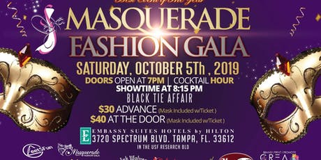 Masquerade Fashion Gala 2nd annual tickets