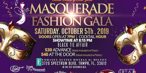Masquerade Fashion Gala 2nd annual