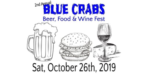 2nd Annual Blue Crabs Beer, Food, and Wine Festival