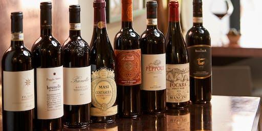 Bacaró Italian Wine Tasting