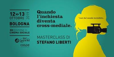 Quando l'inchiesta diventa cross-mediale | Masterclass di Stefano Liberti