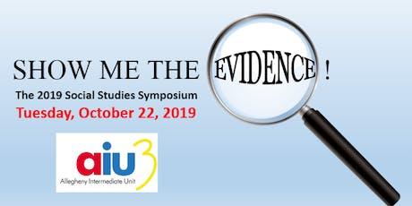 Social Studies Symposium 2019 tickets