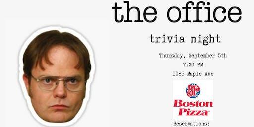 The Office Trivia Night - Milton