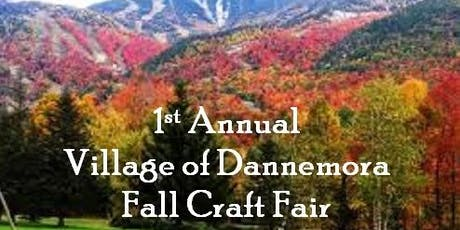 1st Annual Village of Dannemora Fall Craft Fair tickets