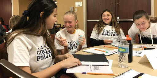 Camp Congress for Girls Palo Alto Fall 2019