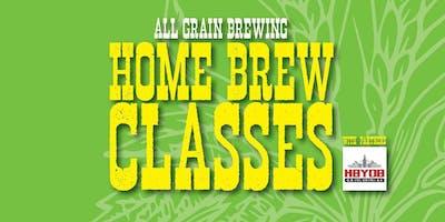 All Grain Brewing Class