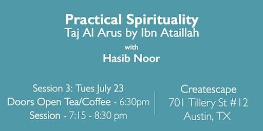 Faith- Practical Spirituality