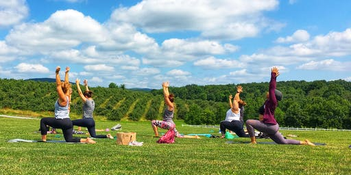 Yoga at the Winery