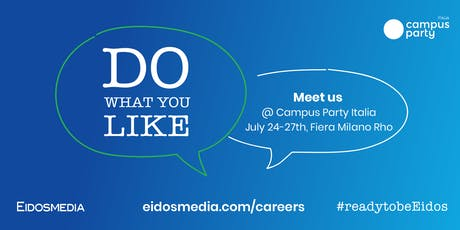 Aperitivo Eidosmedia @ Campus Party Italia biglietti