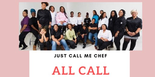 Just Call Me Chef Photoshoot