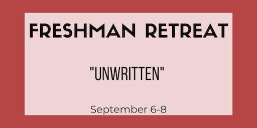Freshman Retreat 2019 Tickets