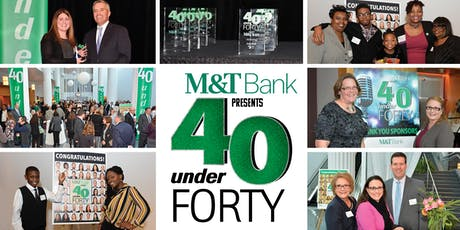 2019 40 Under Forty Awards tickets