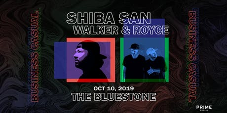 Shiba San x Walker & Royce: Business Casual  tickets