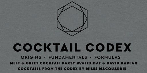 Cocktail Codex at Kimball House