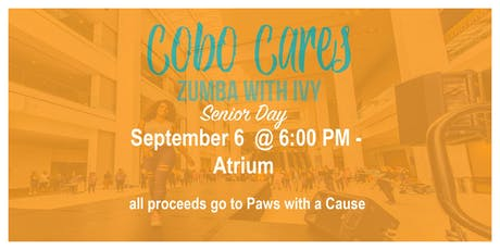 Cobo Cares - Zumba with Ivy Mitchell tickets