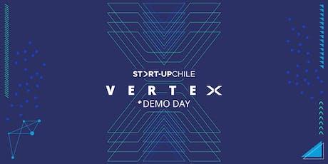 STARTUP VERTEX + DEMO DAY entradas