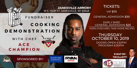 Chef Champion Cooking Demonstration Fundraiser for Delivering Bags of Hope tickets
