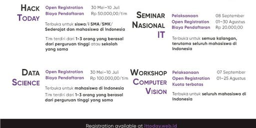 Seminar Nasional IT Today