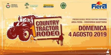 Country Tractor Rodeo - Fiera Santo Stefano 2019 biglietti