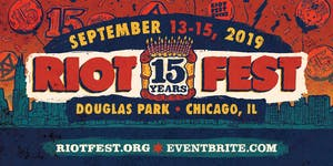 RIOT FEST 2019 I FRIDAY PASS