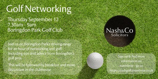 Nash & Co's Golf Networking